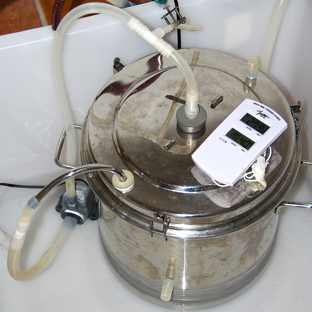 DIY vinegar generator (Multitopf)
